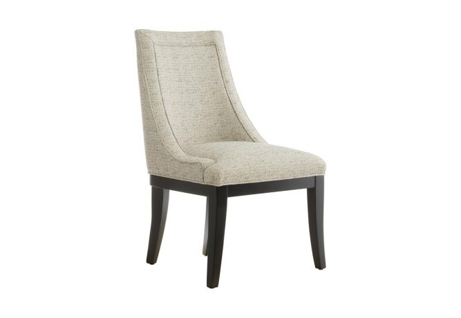 Front view of the 11181 dining chair from Vogel. The traditional dining chair will be the perfect accent for your formal dining room.