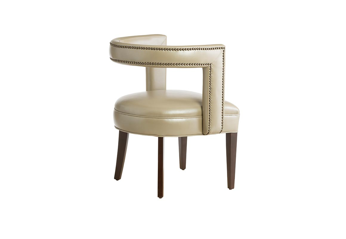 Leather Accent Chairs Metal Legs Caramel.11182 Contemporary Accent Chair Vogel By Chervin