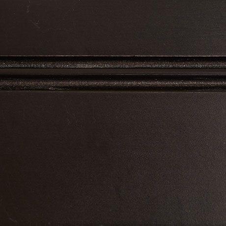matte black custom finish for furniture