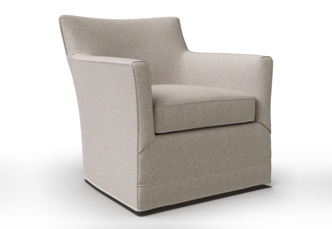 14406 Clarissa Swivel Chair - angle