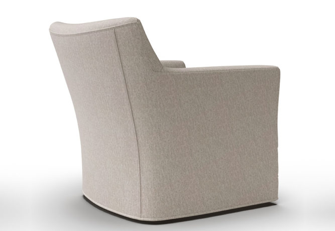 14406 Clarissa Swivel Chair - back