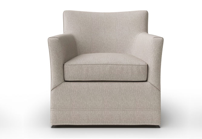 14406 Clarissa Swivel Chair - front