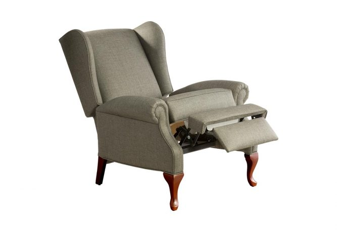 custom reclining chair
