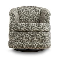 swivel tub chair that features customization