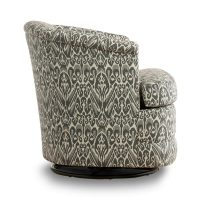 side view of swivel tub chair