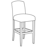 10102 bar stool
