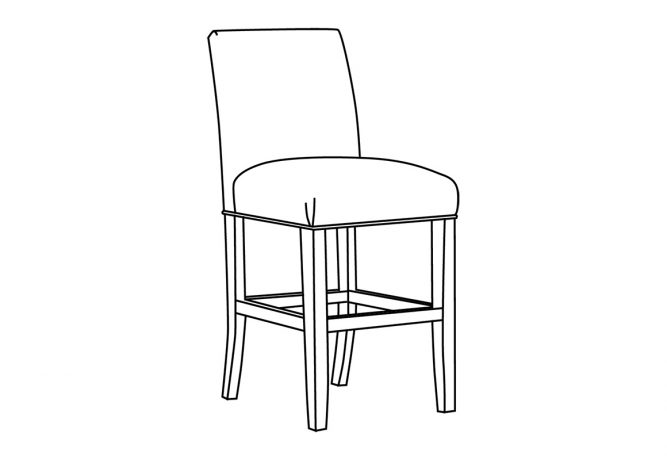 10205 Counter Stool