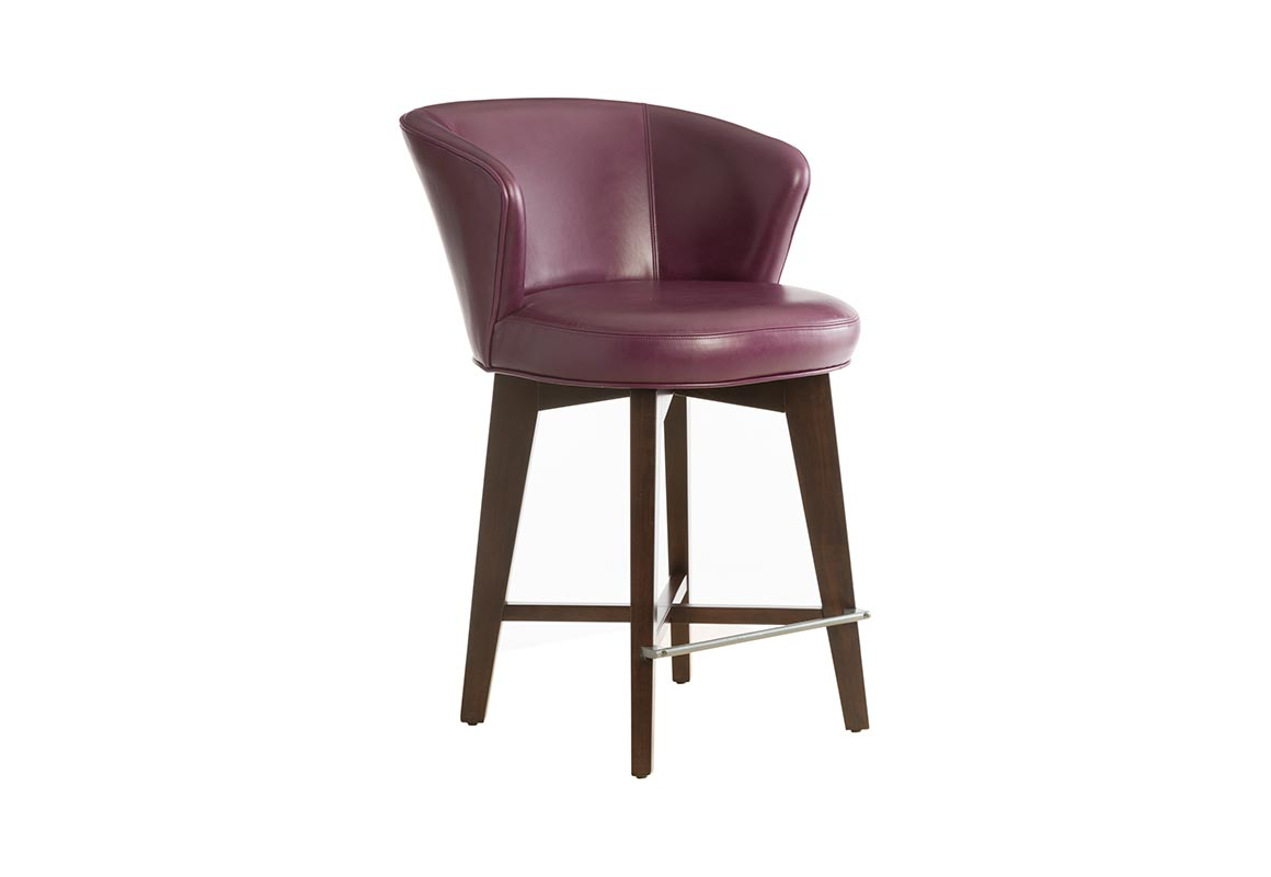 10203 Deluxe Memory Swivel Counter Stool Vogel By Chervin