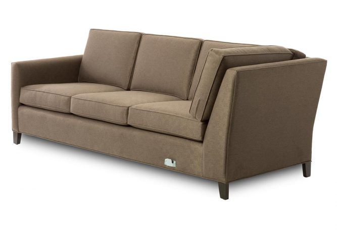 left arm facing sofa sectional piece