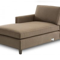 left arm facing customizable chaise piece of sectional