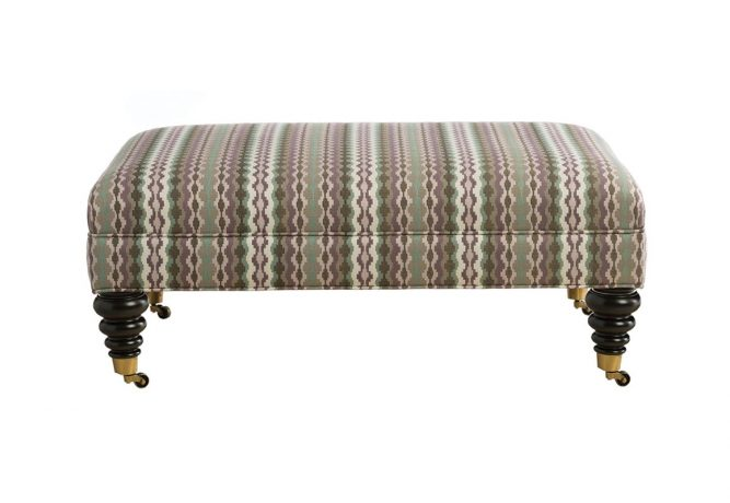 classic ottoman with 5 different leg options