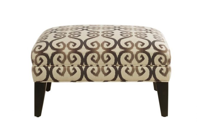 square ottoman made in Toronto, Ontario