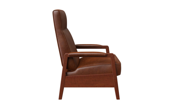 15102 Oxford recliner - side view
