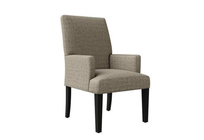 11101 Hudson Arm Chair - angle