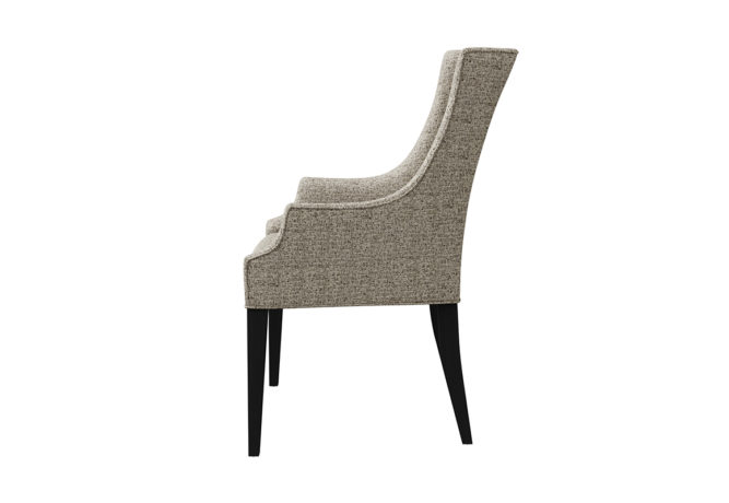 11104 Charlotte Arm Chair - side