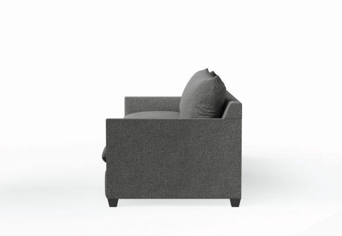 side view of modern sofa